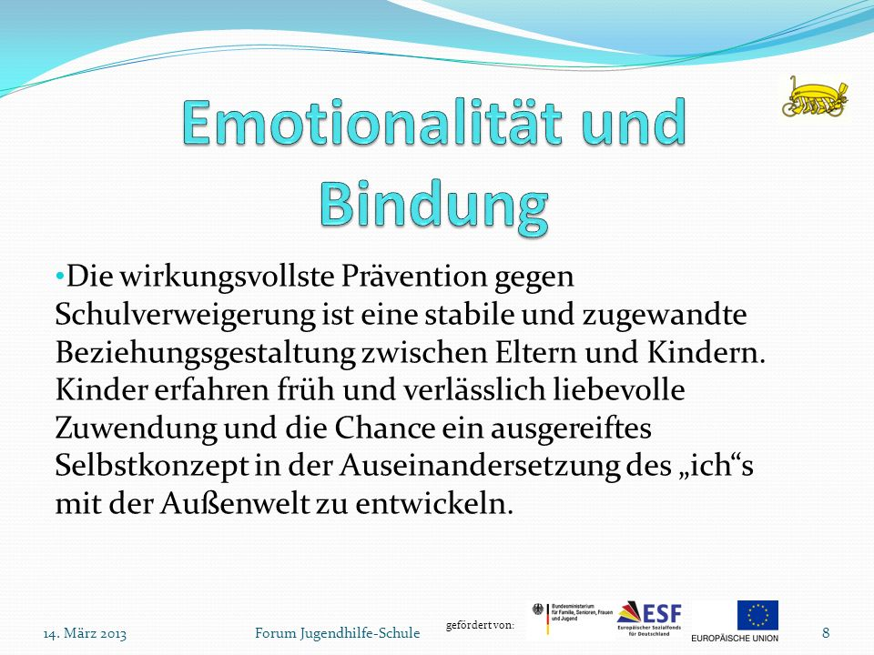Emotionalität und Bindung
