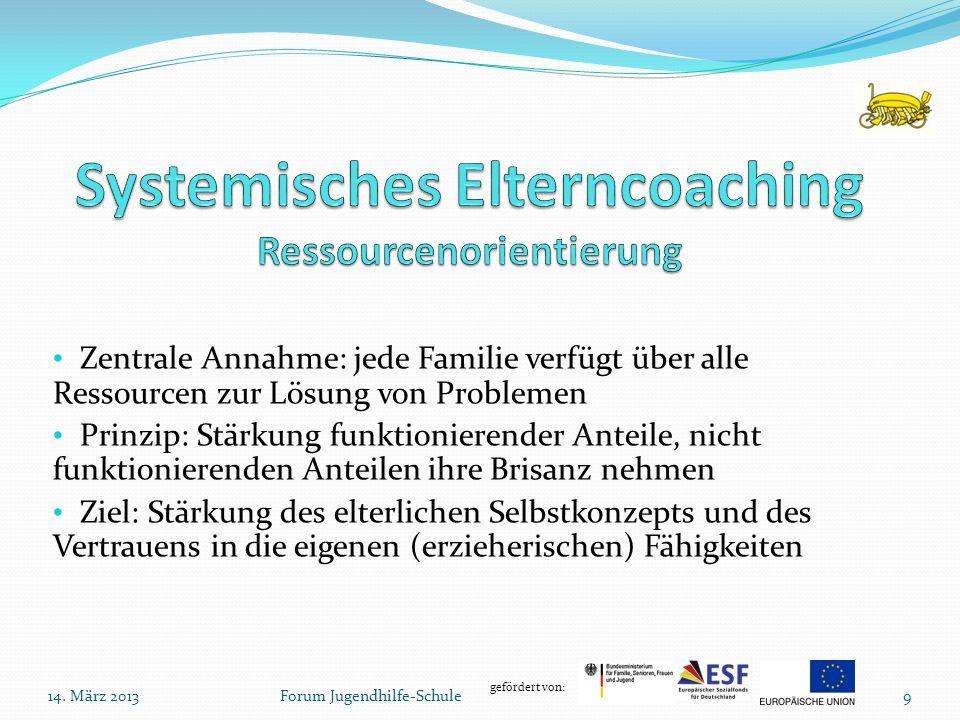 Systemisches Elterncoaching Ressourcenorientierung