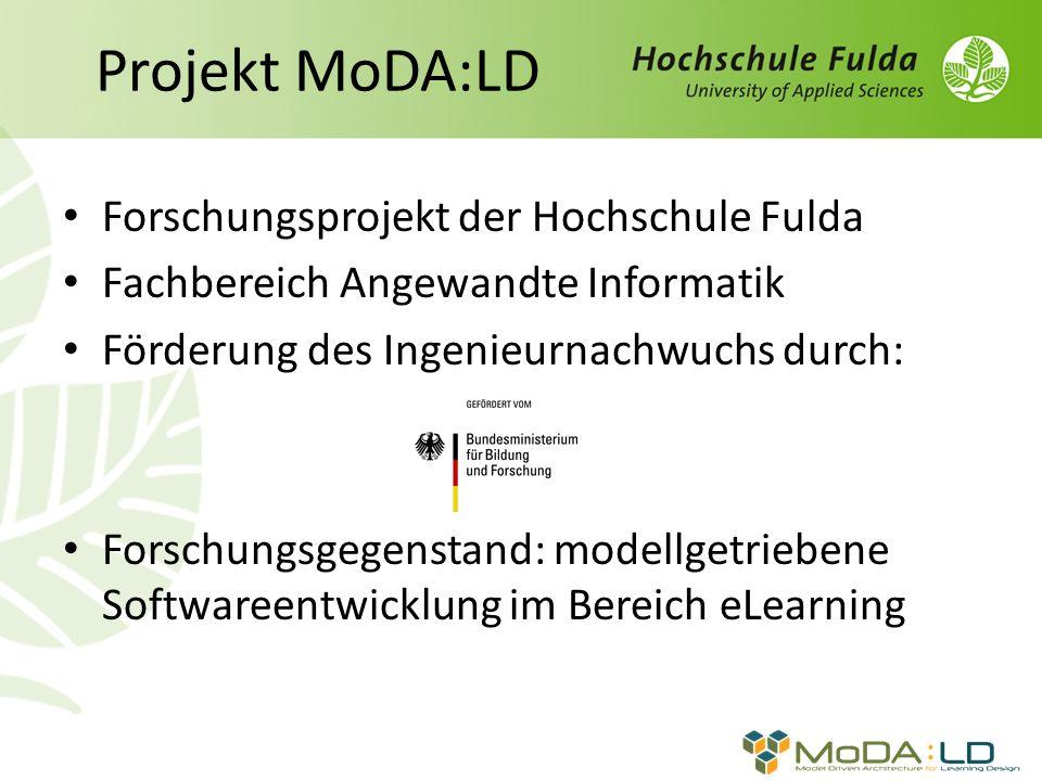 Projekt MoDA:LD Forschungsprojekt der Hochschule Fulda