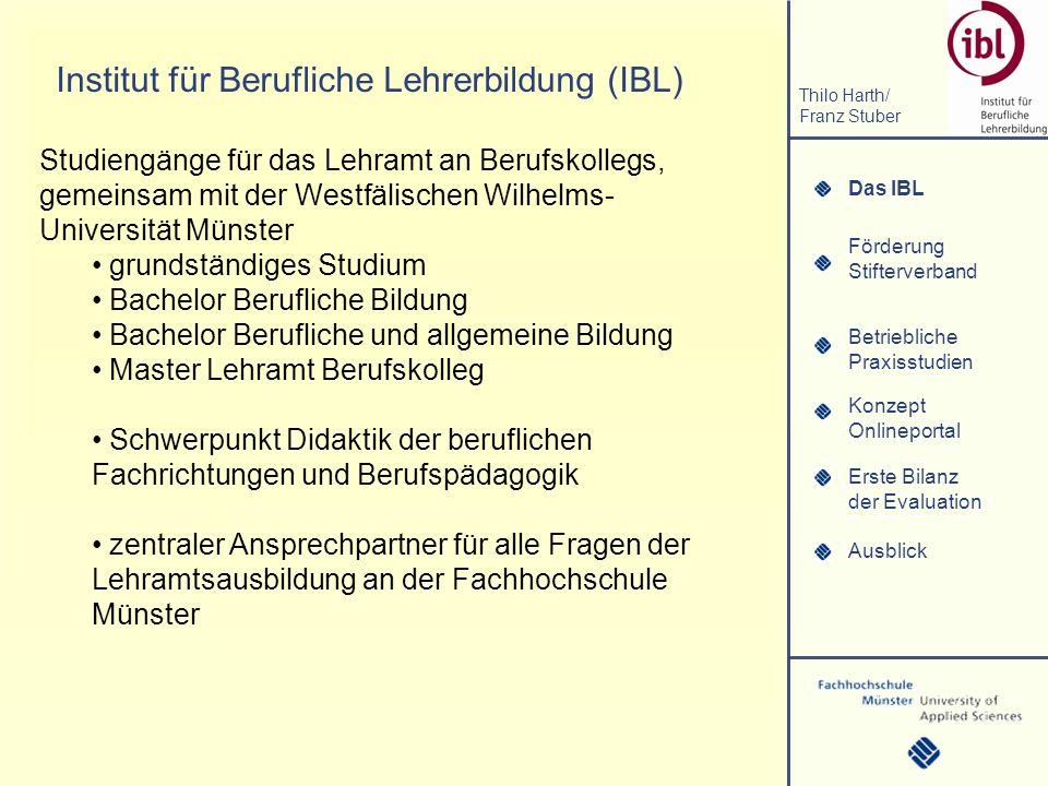 Institut für Berufliche Lehrerbildung (IBL)