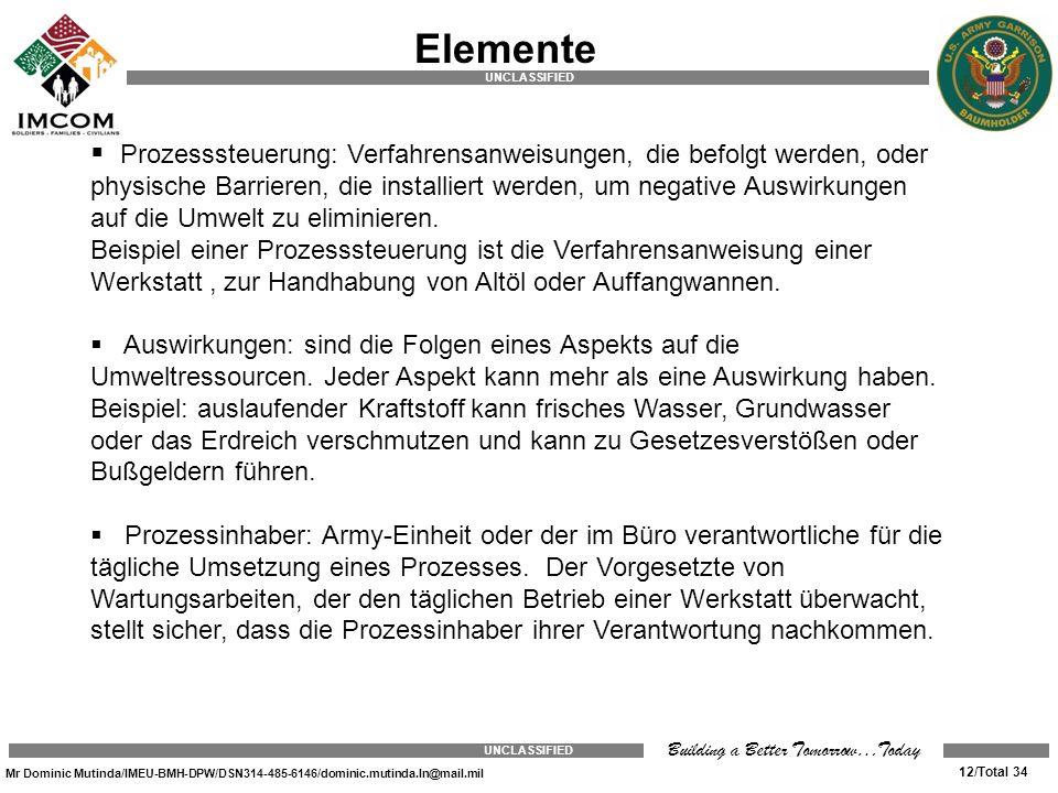 UMS Elemente