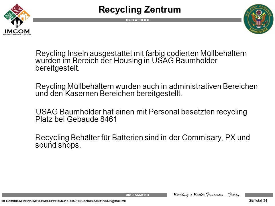 Recycling Zentrum