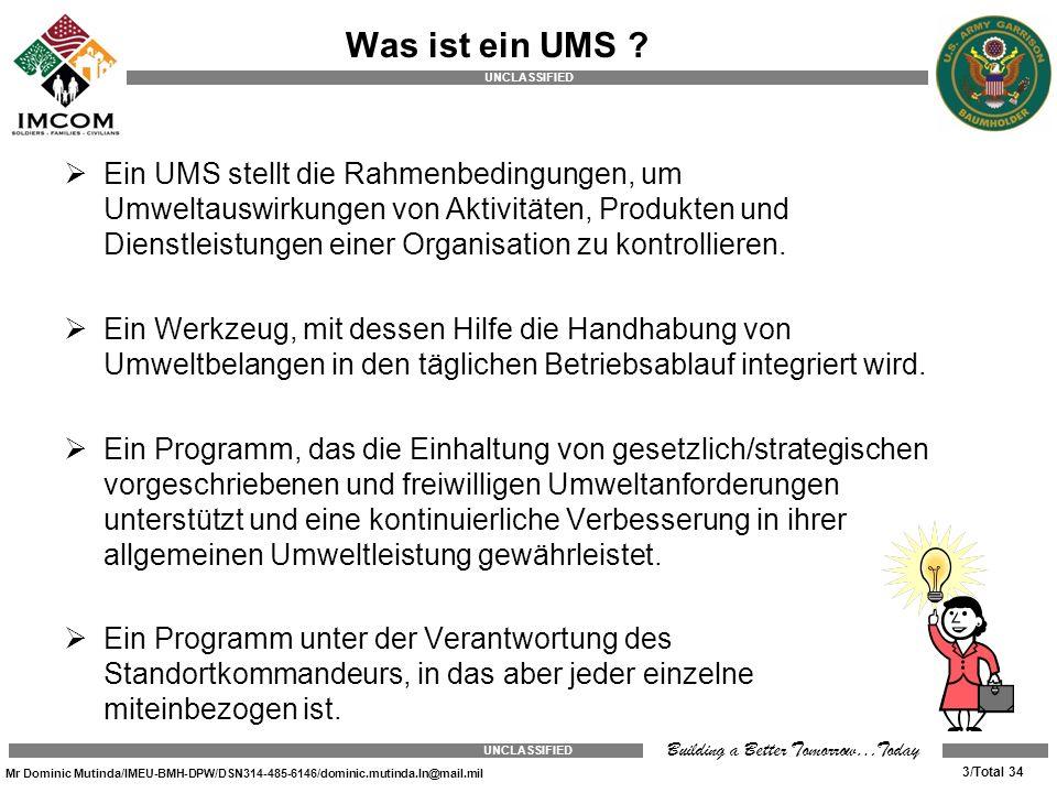 Was ist ein UMS