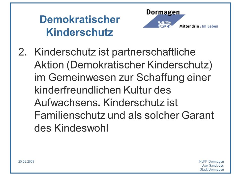 Demokratischer Kinderschutz