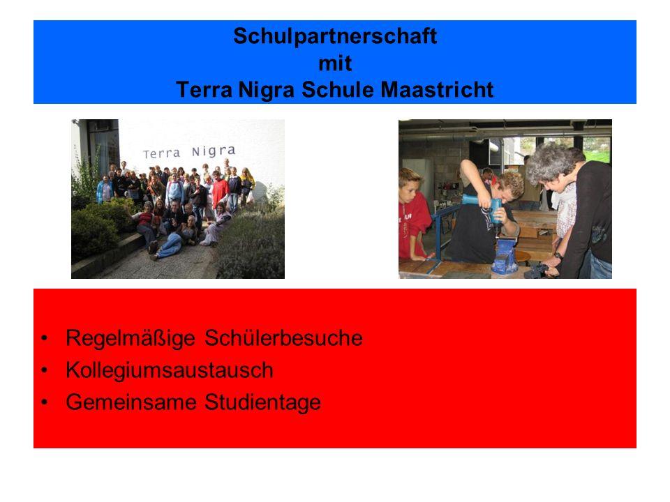 Schulpartnerschaft mit Terra Nigra Schule Maastricht