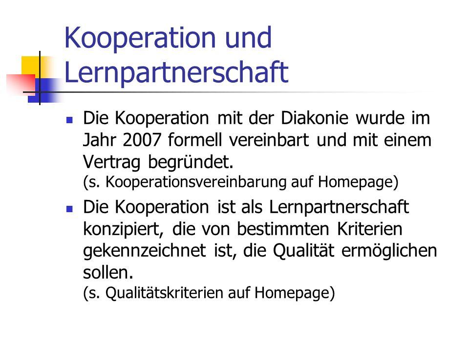 Kooperation und Lernpartnerschaft