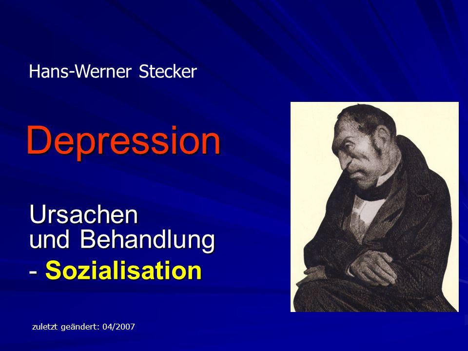 Ursachen und Behandlung - Sozialisation