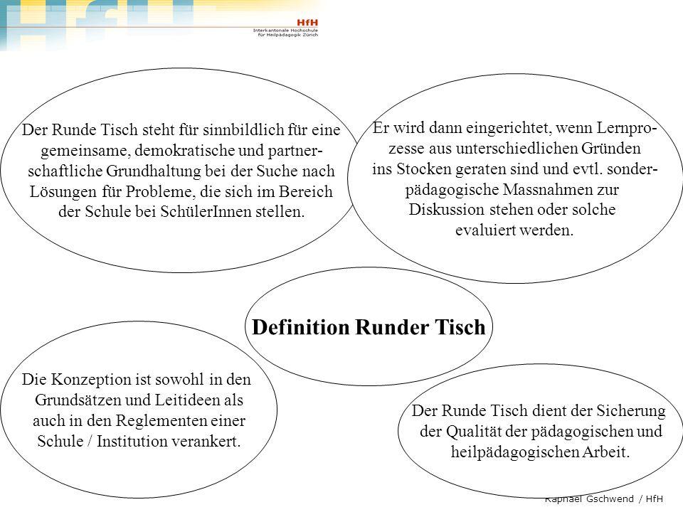Definition Runder Tisch