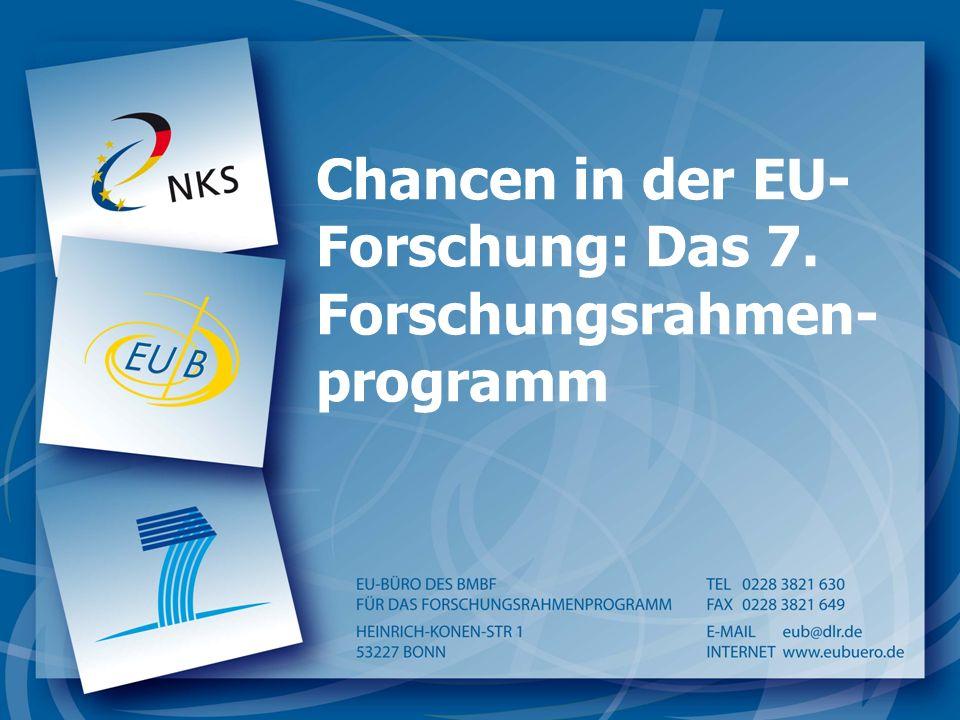 Chancen in der EU-Forschung: Das 7. Forschungsrahmen-programm