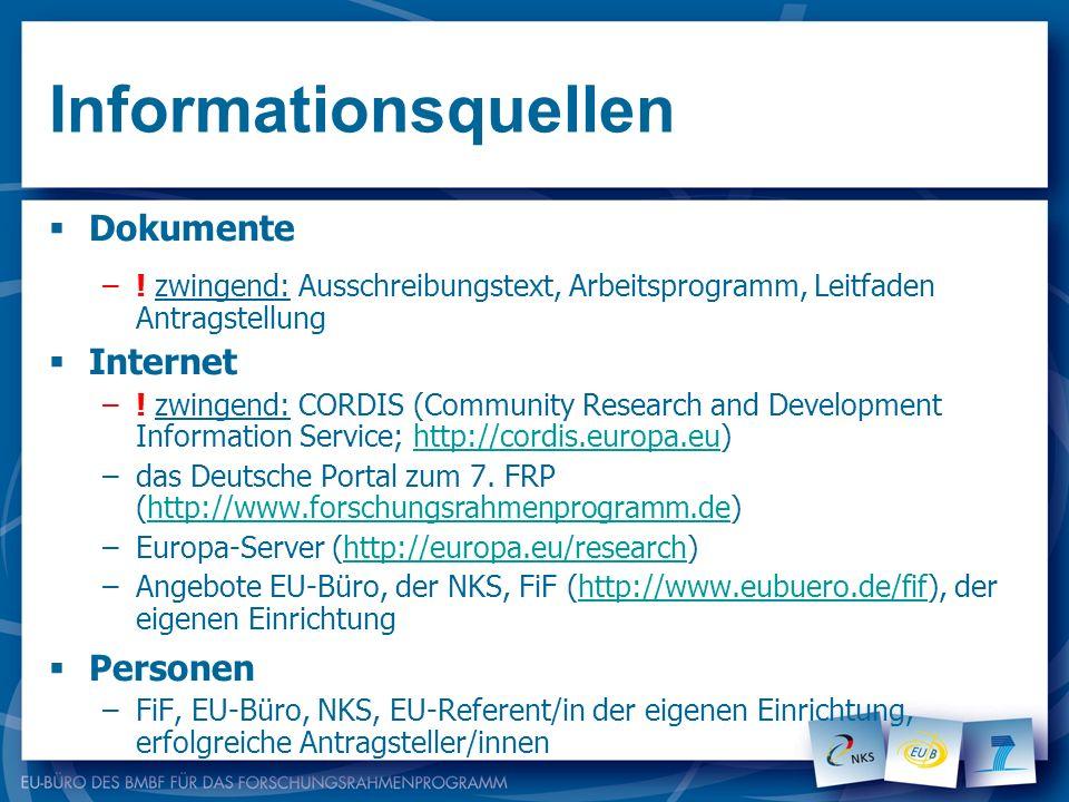 Informationsquellen Dokumente Internet Personen