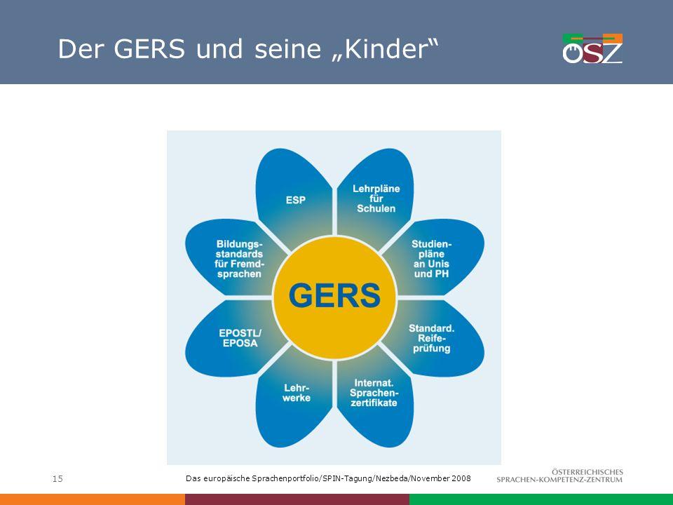"""Der GERS und seine """"Kinder"""