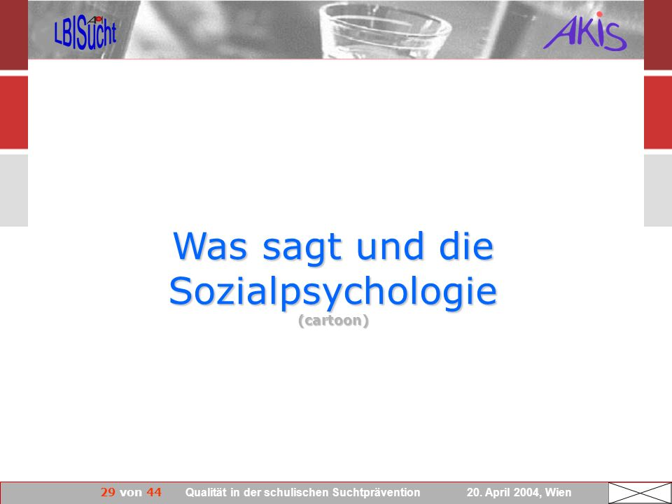 Was sagt und die Sozialpsychologie (cartoon)