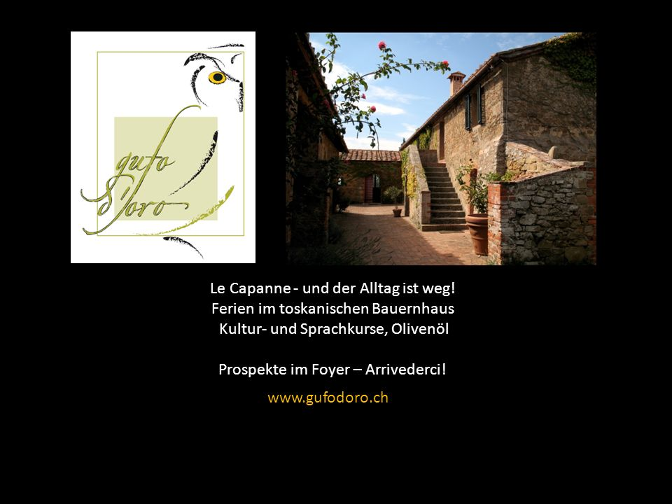 Le Capanne - und der Alltag ist weg! Ferien im toskanischen Bauernhaus