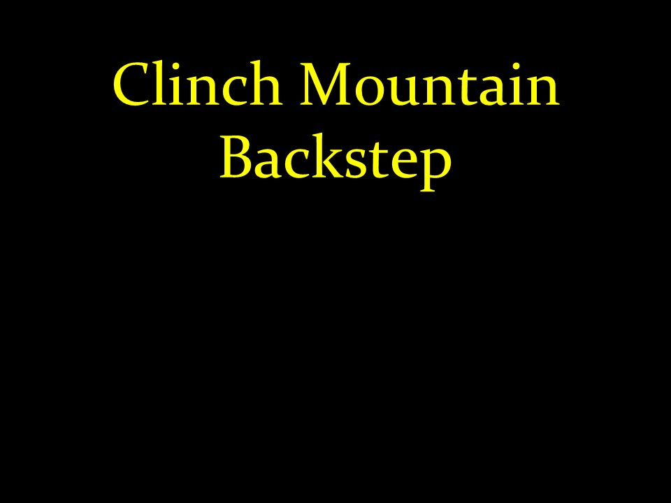 Clinch Mountain Backstep