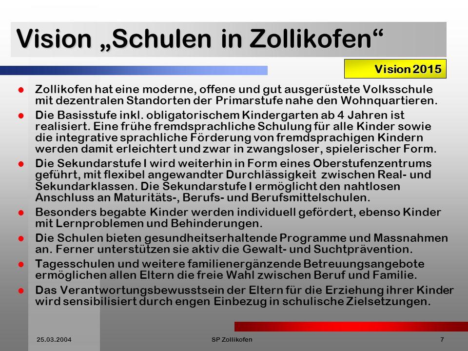 "Vision ""Schulen in Zollikofen"