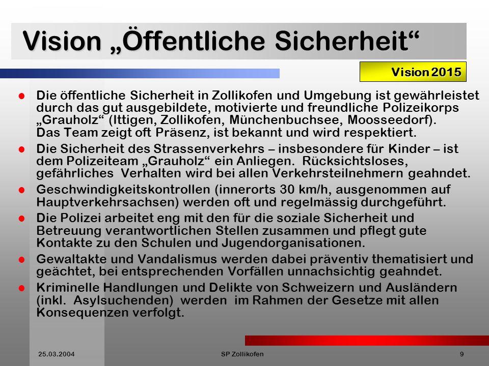 """Vision """"Öffentliche Sicherheit"""