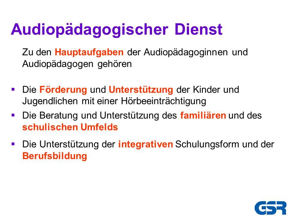 Audiopädagogischer Dienst