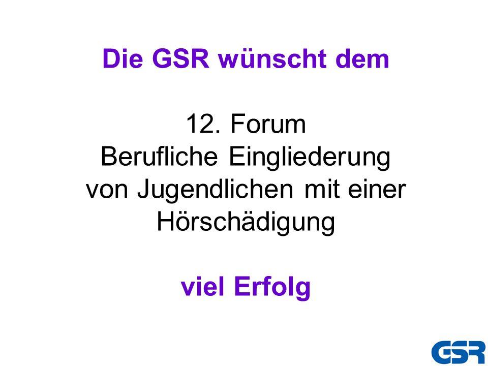 Die GSR wünscht dem 12.