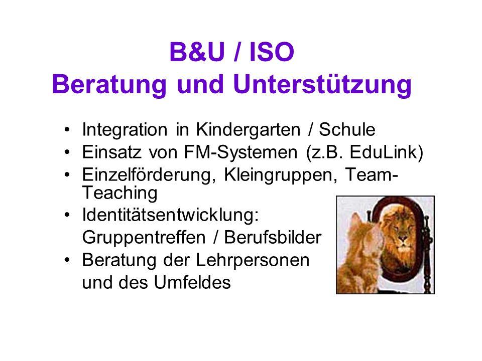 B&U / ISO Beratung und Unterstützung