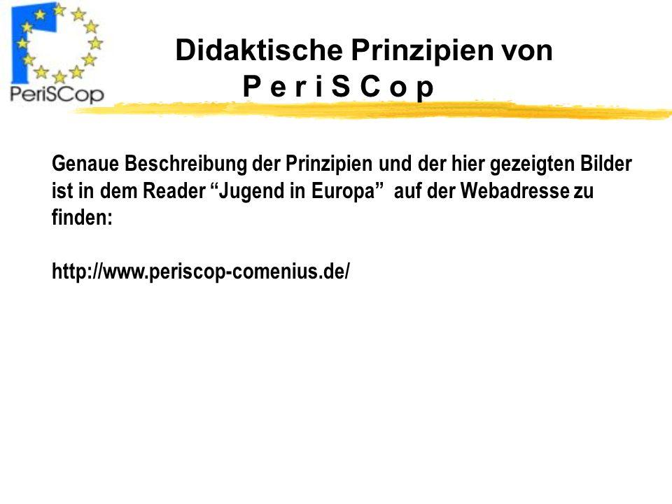 Didaktische Prinzipien von P e r i S C o p
