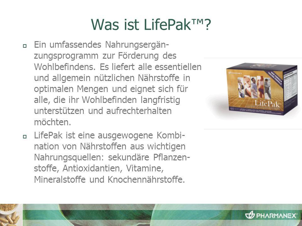 Was ist LifePak™
