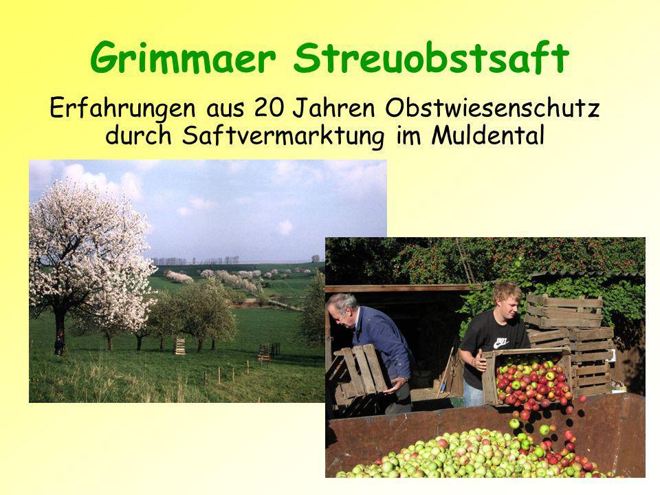 Grimmaer Streuobstsaft