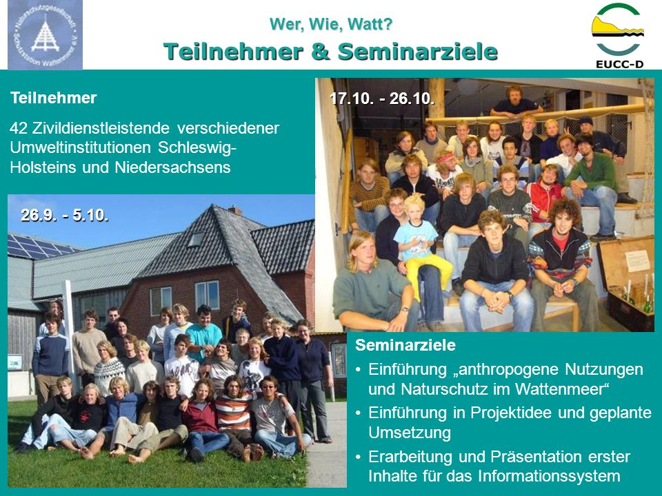 Teilnehmer & Seminarziele