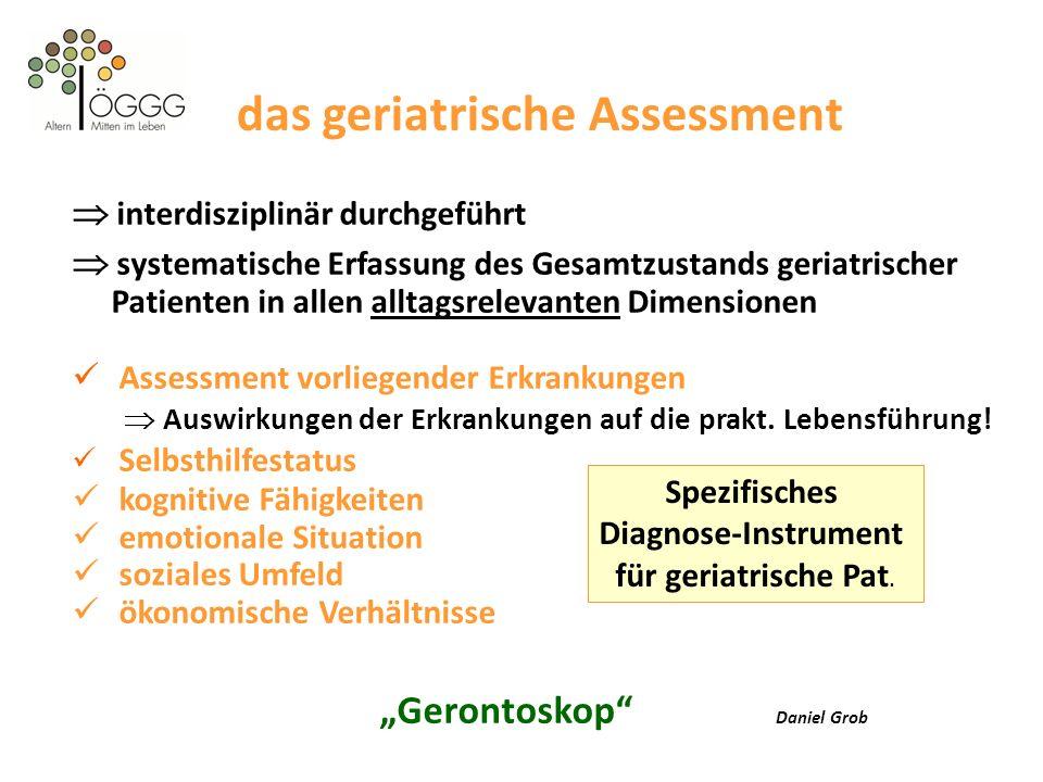 das geriatrische Assessment