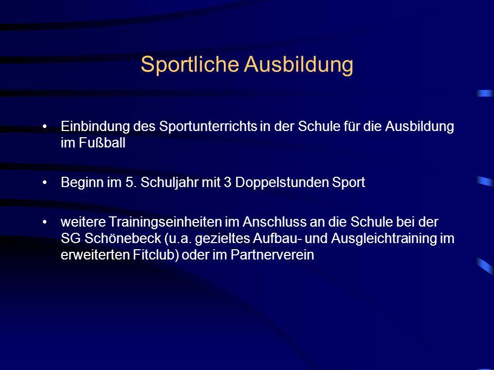 Sportliche Ausbildung