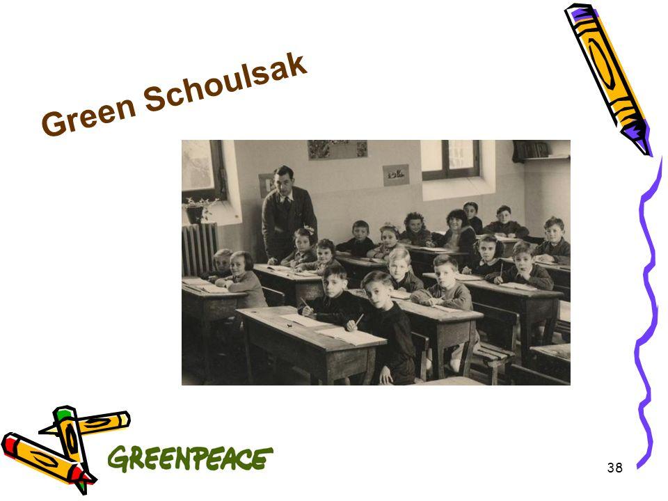 Green Schoulsak