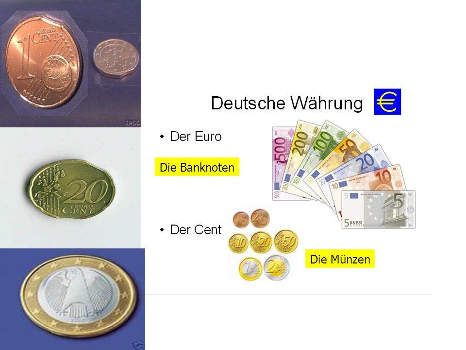 Die Banknoten Die Münzen