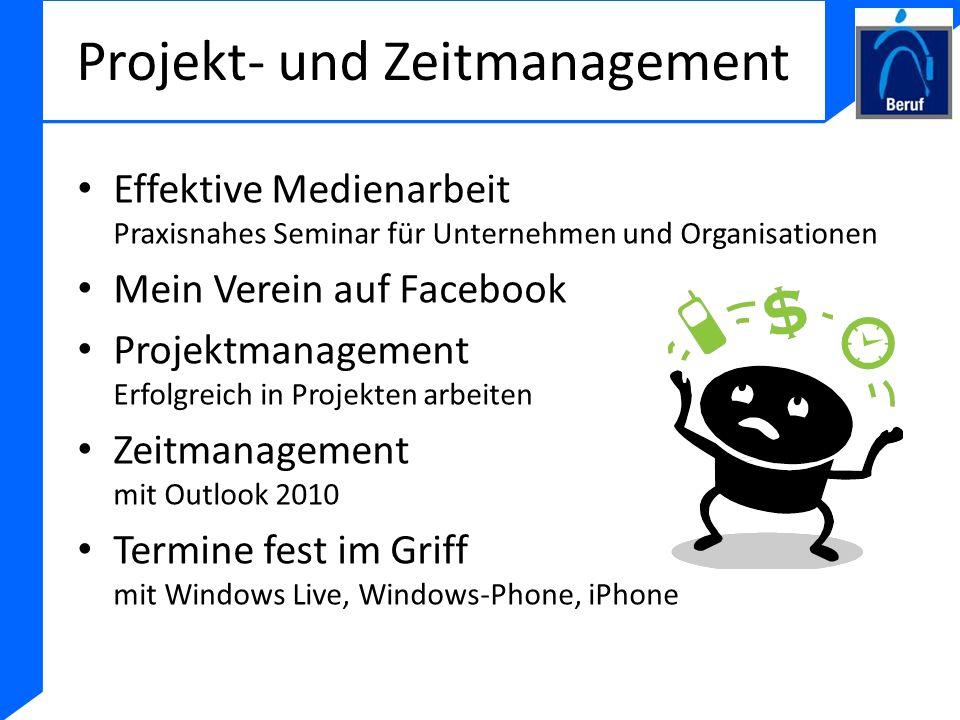 Projekt- und Zeitmanagement