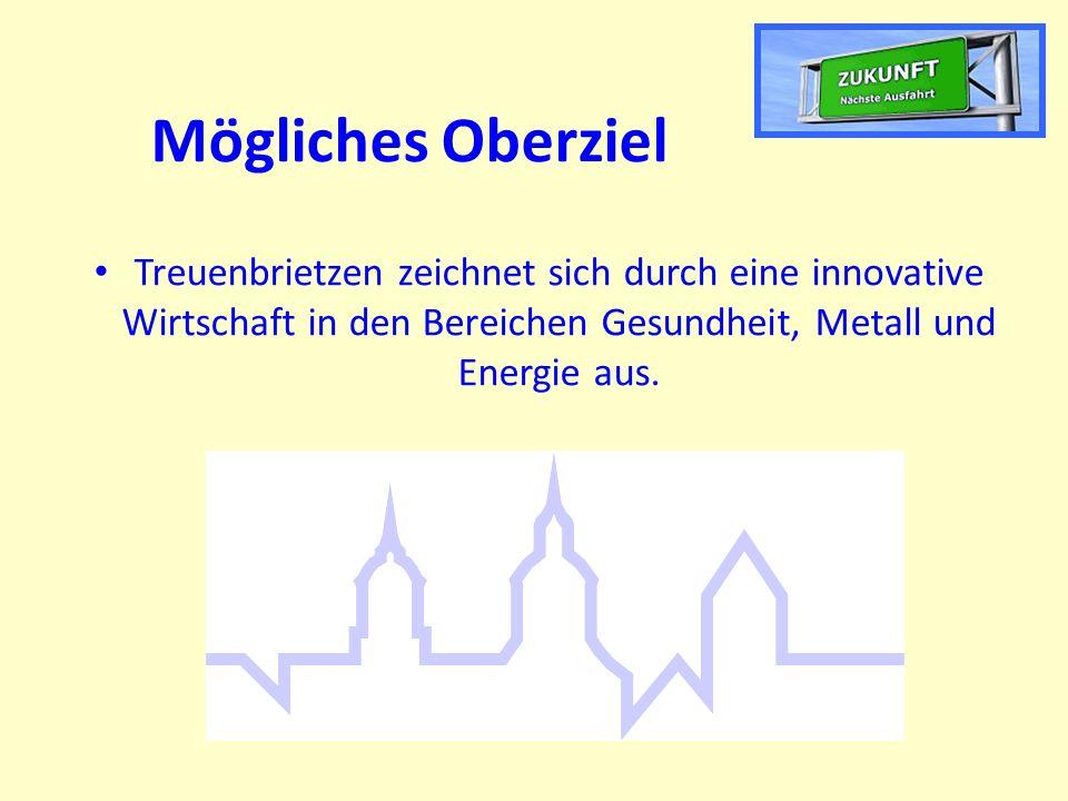 Mögliches Oberziel Treuenbrietzen zeichnet sich durch eine innovative Wirtschaft in den Bereichen Gesundheit, Metall und Energie aus.