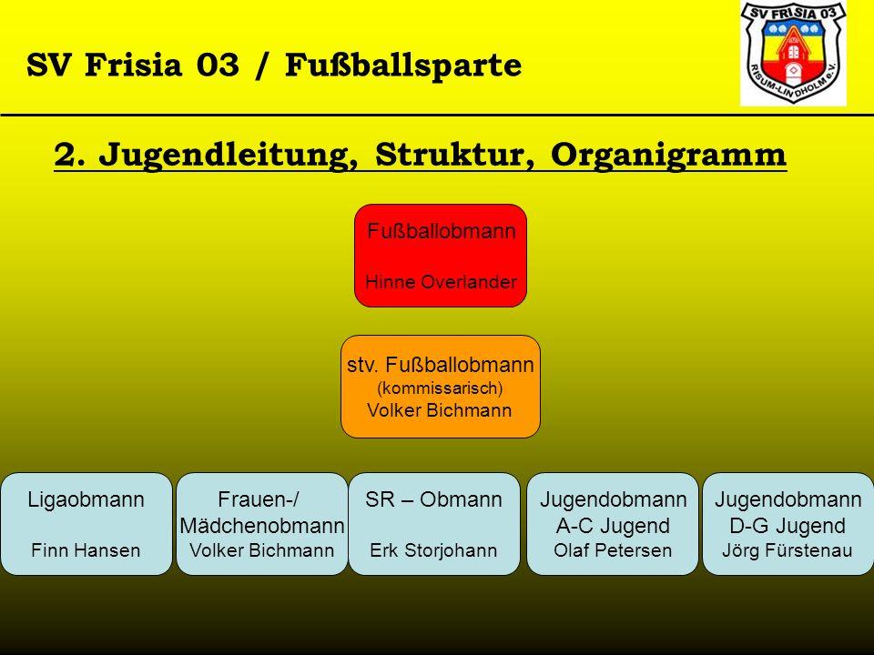 2. Jugendleitung, Struktur, Organigramm