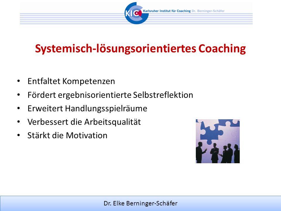 Systemisch-lösungsorientiertes Coaching