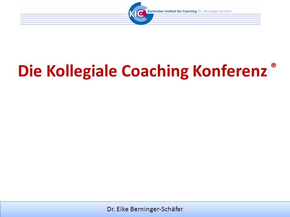 Die Kollegiale Coaching Konferenz ®