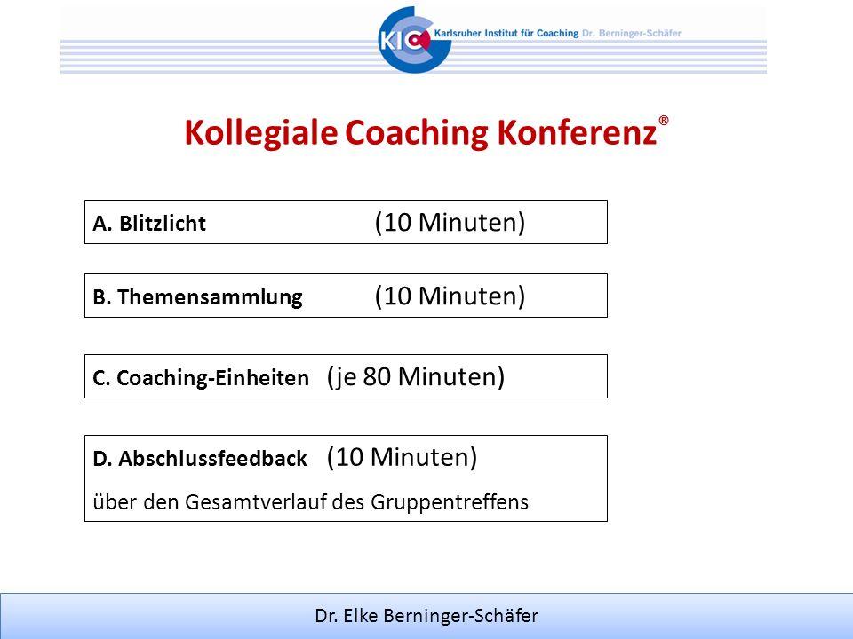 Kollegiale Coaching Konferenz®