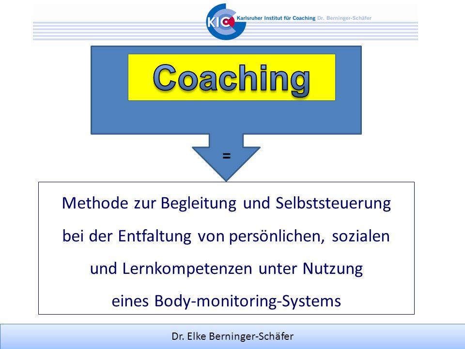 Coaching = Methode zur Begleitung und Selbststeuerung