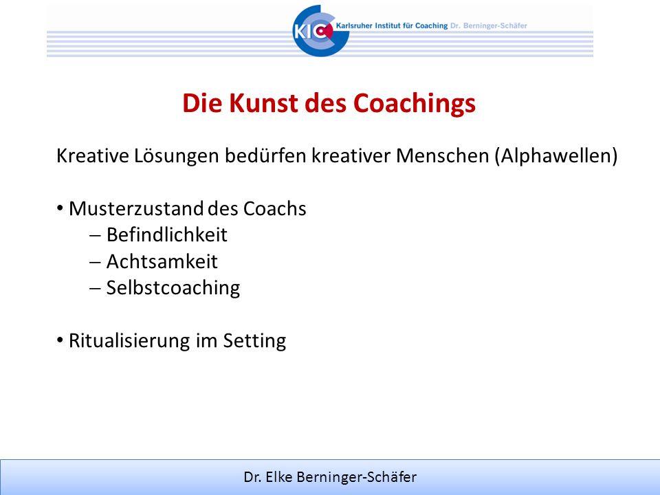 Die Kunst des Coachings
