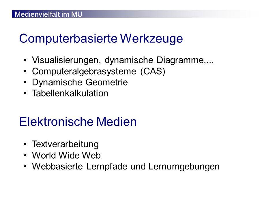 Computerbasierte Werkzeuge