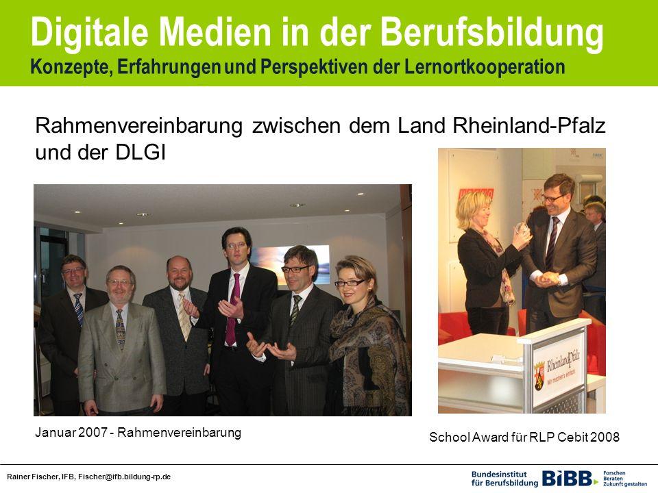 Rahmenvereinbarung zwischen dem Land Rheinland-Pfalz und der DLGI