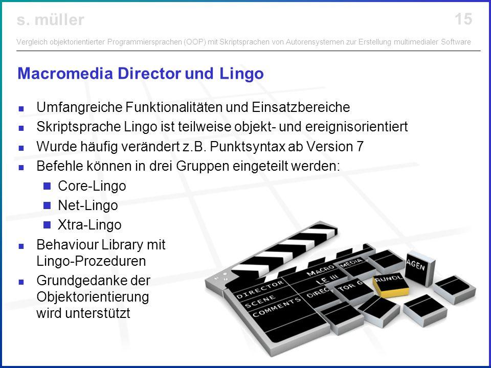 Macromedia Director und Lingo