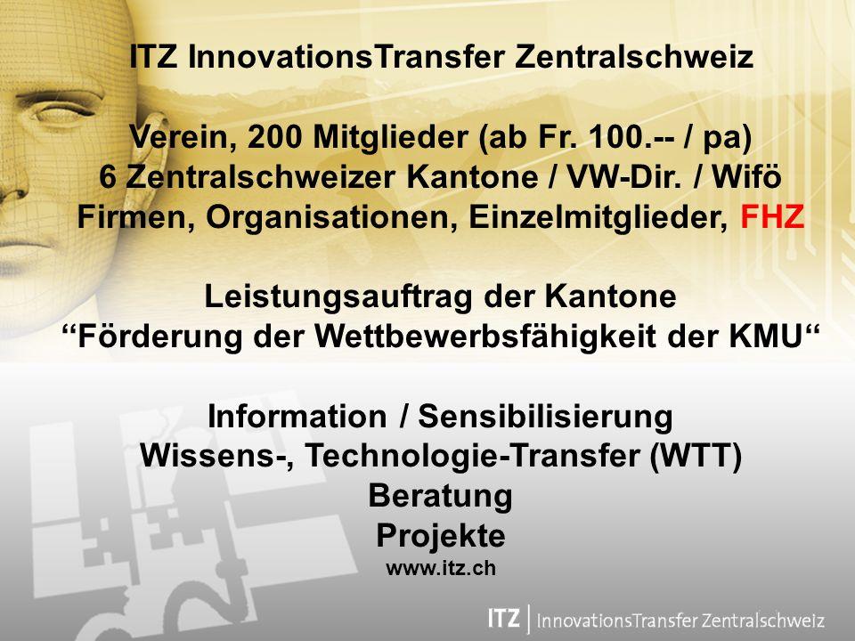 ITZ InnovationsTransfer Zentralschweiz