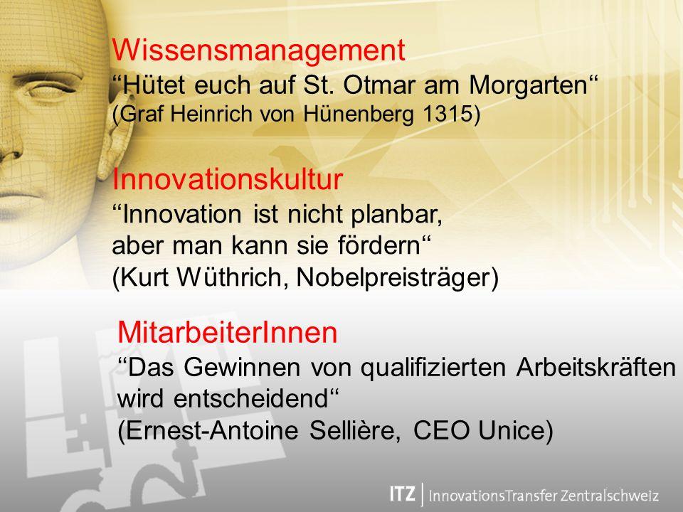 Wissensmanagement Innovationskultur MitarbeiterInnen