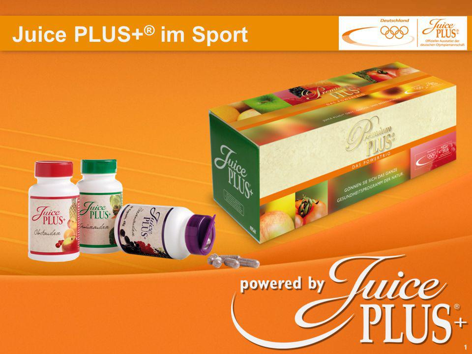 Juice PLUS+® im Sport