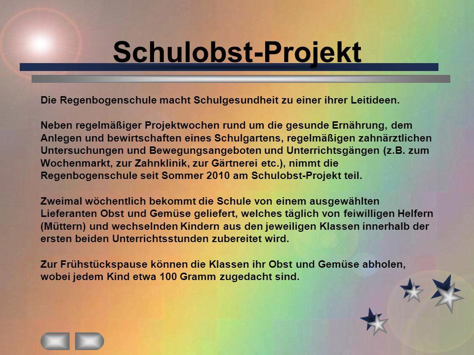 Schulobst-Projekt