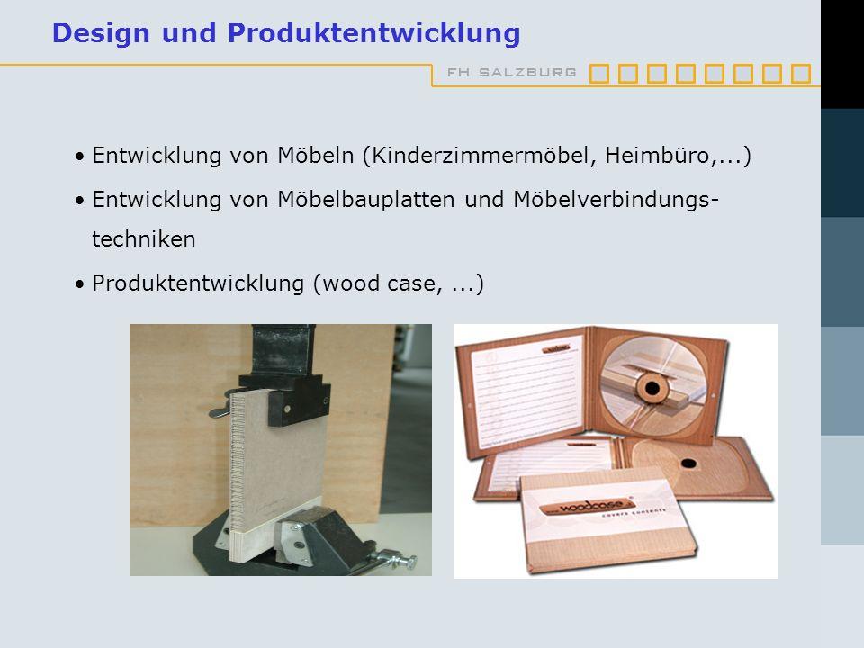 Design und Produktentwicklung
