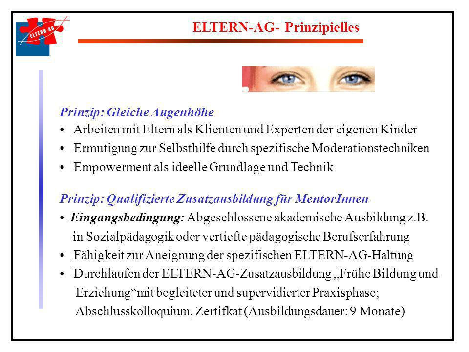 ELTERN-AG- Prinzipielles