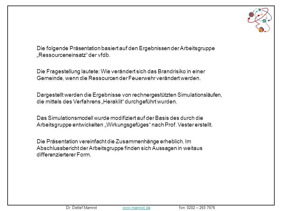 """""""Ressourceneinsatz der vfdb."""