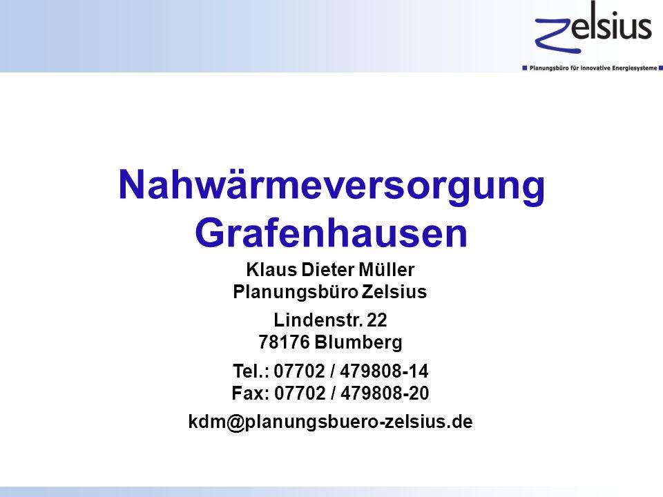 Nahwärmeversorgung Grafenhausen